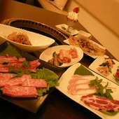 家族みんなで和やかな焼肉をお楽しみ下さい。