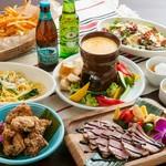 Viva Mexico!友人同士や女子会など気の合う仲間とのタコスパーティー♪お好きな具材でタコス食べ放題★