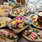 Borabora人気No.1☆定番の南国FOODが勢揃いした満足&満腹のリゾートプラン!!