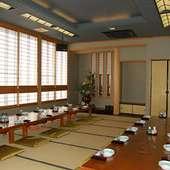 カラオケ完備の大宴会場