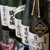 清酒【力士】醸造元の釜屋の日本酒を各種取り扱っております