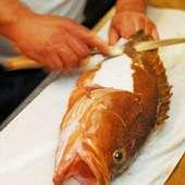 新鮮な魚貝類を楽しめる