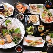 宴会コース「4000円~」 贅沢な海の幸や知多名物が堪能できます