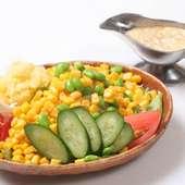 晩餐館サラダ