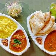 香りのよいインドのバスマティライスを使用しています。 揚げ玉ねぎ、コリアンダー、ライタ(ヨーグルトサラダ)を混ぜてお召し上がりください。 期間限定の特別価格です。