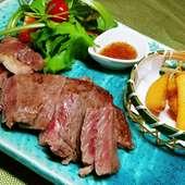 和牛150g~ 7000円のコースでお肉は150g