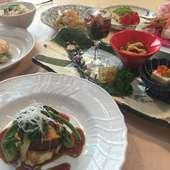 旬の食材とステーキの懐石☆島熊ステーキ懐石