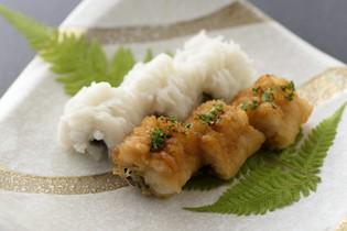 プリプリとした食感と上品な味わいの『鱧の焼物』