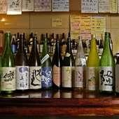 オーナー厳選の日本酒、果実酒を味わってください。
