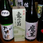 日本酒 芋焼酎 各種取り揃えております。
