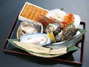 海なし県とは思えない、新鮮な魚介類を使用しています