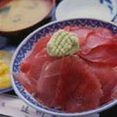 魚料理 遠州屋 名物まぐろ丼定食