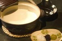 今から豆腐を作ります。
