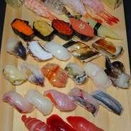 ご予算のご相談お受けいたします。 是非、カウンターでお寿司デートを満喫してみては!