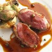 鴨肉のロースト(150g)
