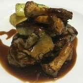 クラシックフレンチ王道肉料理牛フィレ肉のロッシーニステーキ