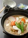 川越の郷土料理「呉汁」と食す手打ちうどん