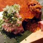 ぶっかけ特選寿司