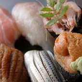 寿司を握って40年。源さんこだわりの握りをご堪能ください
