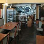 アットホームな雰囲気で温かみのある洋食店