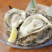 濃厚な味わいに、思わず笑顔がこぼれる『京都舞鶴産岩牡蠣』