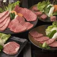 焼肉もとやまが自信を持ってお勧めできるフルコース! 贅沢に厳選されたお肉だけをチョイス! 前菜から希少部位、特選赤身、神戸牛、デザートまでを網羅できるコースです! 是非一度お試し下さい。