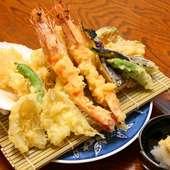 海鮮天ぷら盛り合せ