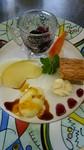 平日 女性限定 一日 10食!(要予約) ウェルカムハーブティー付き野菜のアスピック スープ 若鶏の柔らか煮フォワグラクリームとソプラノトマトのマリアージュ パン デザート全部盛り合わせ カフェ