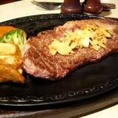 上質な特選ステーキもございます!