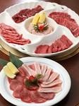 6種類のお肉が入ったお得なセットです。