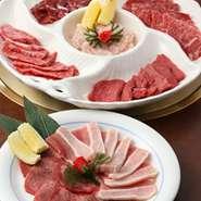 6種類のお肉が入ったお得なセットです。(5380円)