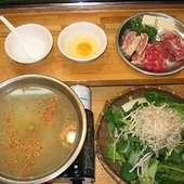 元祖「草鍋」 たっぷりの草と薬味、そしてお肉…