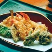 多くの食通が絶賛する天ぷら