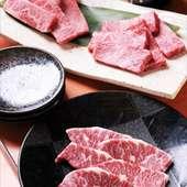 お好みに併せて、お好きなお肉をチョイス。旨味たっぷりです!