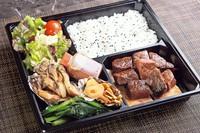 牛肉の中でももっとも上質なステーキの部位とされるヒレ、あまりうごかないぶいのため非常にやわかいステーキ。