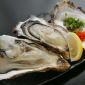 年間を通して仕入れる鮮度抜群の『生牡蠣』