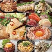 名物もつ鍋以外にも、九州ならではの創作料理や串焼きのメニューが豊富になりました!