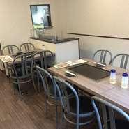 テーブル席は最大で12名様までご利用可能です。