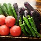 四季を感じる味わいで心を満たす、旬の地野菜