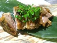 新鮮な食材だからこそ味わえる『京地鶏のたたき』