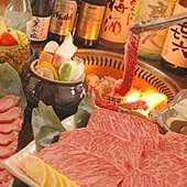 飲み放題コースは5000円から。お座敷席完備で宴会に最適