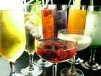 つぶつぶみかん酒、とろーり桃酒、緑茶梅酒、しそ梅酒、あらごし梅酒、あまおう梅酒