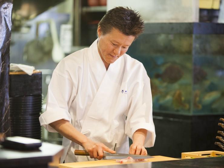 おいしい料理を作る原動力は、お客さんのニコッとした笑顔です