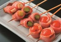 二串  ※写真はエリンギベーコン巻・トマトベーコン巻・アスパラベーコン巻のイメージです。