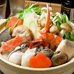 海老・蟹・はまぐり・旬の魚介など、冬の味覚をたっぷり詰めました!!