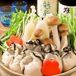 かき鍋の味付けは『味噌仕立て』か、大根おろしにポン酢で食べる『雪見鍋』からお選びください。
