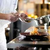 みしまプラザホテル内 フランス料理