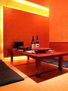 おちついた雰囲気の座敷完全個室