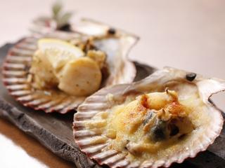 ■長太郎貝ガーリックバター焼とチーズ焼■