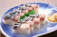 大将おすすめの 清水鯖を使って作ったお寿司です。